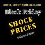 Black Friday Hotel Corot - Roma
